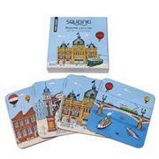 Squidinki - Melbourne Collection Coasters Set 4pce