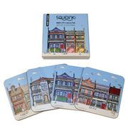 Squidinki - Inner City Coasters Set 4pce