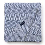 Lexington - Structured Cotton Bedspread Blue 160x240cm