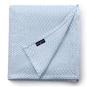 Lexington - Structured Cotton Bedspread Light Blue 160x240cm