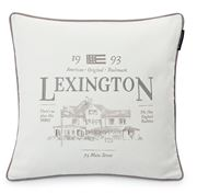 Lexington - House Sham White/Gray 50x50cm
