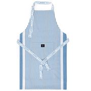 Lexington - Oxford Striped Cooking Apron Blue