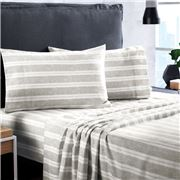 Sheridan - Balham Bed Sheet Set Flint Queen