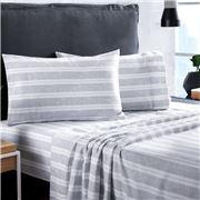 Sheridan - Balham Chloe Blue King Bed Sheet Set