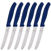 Victorinox - Steak Knife Set Blue 6pce
