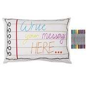 Eat Sleep Doodle - Doodle Notebook Pillowcase