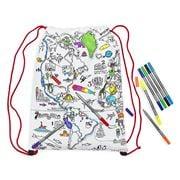 Eat Sleep Doodle - World Map Backpack