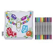 Eat Sleep Doodle - Doodle Designer Accessory Bag