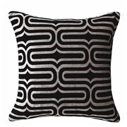 Davinci - Fraser Pewter Square Cushion
