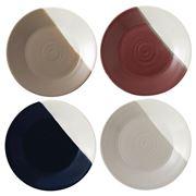 Royal Doulton - Coffee Studio Plate Set 4pce