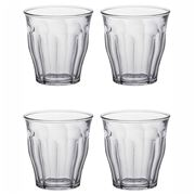 Duralex - Picardie Tumbler Clear 160ml Set 4pce