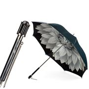 Pasotti - Umbrella Double Cloth Dahlia Gunmetal
