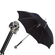 Pasotti - Umbrella Studded Skull Black