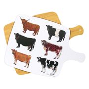 Jersey Pottery - Cow Melamine Chopping Board