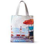 Med Blue - Isola Bella Canvas Tote Bag