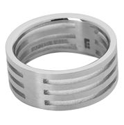 Ferrissimo - Cable & Slot Slotted Ring Size X