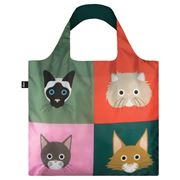 LOQI - Cats & Dogs Collection Cats Reusable Bag