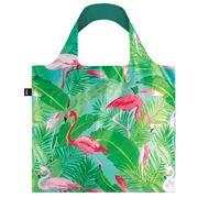 LOQI - Wild Collection Flamingos Reusable Bag