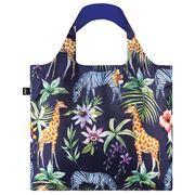 LOQI - Wild Collection Zebras Reusable Bag