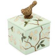 Abhika - Box Bird Atlantide 9x9cm
