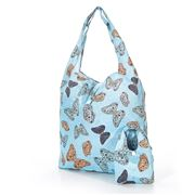 Eco-Chic - Foldaway Shopper Butterflies Sky Blue