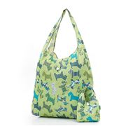 Eco-Chic - Foldaway Shopper Scotty Dog Green