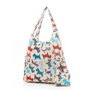 Eco-Chic - Foldaway Shopper Scotty Dog Cream