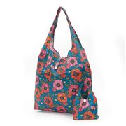 Eco-Chic - Foldaway Shopper Poppies Navy