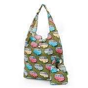 Eco-Chic - Foldaway Shopper Combi Vans Green