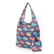 Eco-Chic - Foldaway Shopper Combi Vans Purple