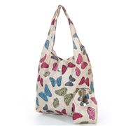 Eco-Chic - Foldaway Shopper Butterflies Cream