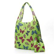 Eco-Chic - Foldaway Shopper Butterflies Green
