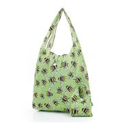 Eco-Chic - Foldaway Shopper Bees Green