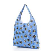 Eco-Chic - Foldaway Shopper Bees Blue