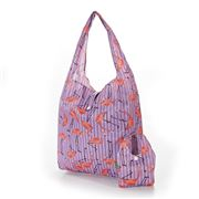 Eco-Chic - Foldaway Shopper Flamingo Lilac