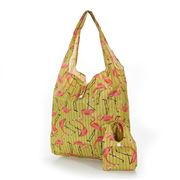 Eco-Chic - Foldaway Shopper Flamingo Yellow