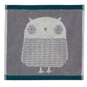 Donna Wilson - Owl Face Washer Grey