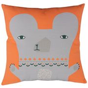 Donna Wilson - Bear Cushion Orange 45x45cm