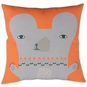 Donna Wilson - Bear Cushion Orange 45x45cm