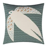 Donna Wilson - Flying Bird  Cushion Dark Green 45x45cm