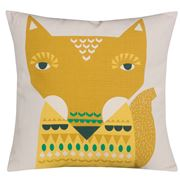 Donna Wilson - Fox  Cushion Yellow 45x45cm