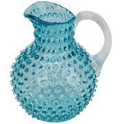 Chehoma - Hobnail Pitcher Aqua Blue 2L