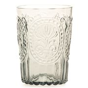 Van Verre - Fleur De Lys Glass Large Grey 300ml