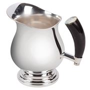 Plata Lappas - Silver Plated Pitcher With Horn Handle