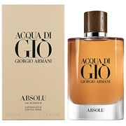 Giorgio Armani - Aqua Di Gio Absolu EDP Spray 125ml