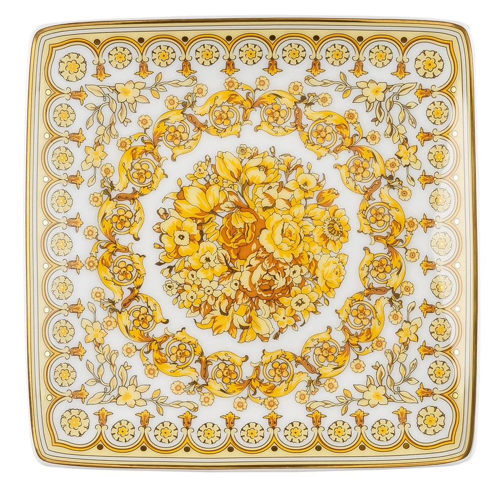 Rosenthal - Versace Tribute Baroque Square Dish  5ec6dd519000f