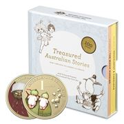 RA Mint - Treasured Australian Stories Coloured Coin Set 2pc