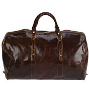 Manufactus - Augusto Leather Bag Espresso Large