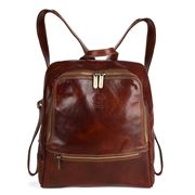 Manufactus - BIGA Leather Backpack Chestnut