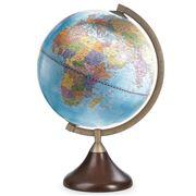 Zoffoli - Coronelli Political Desk Globe Blue